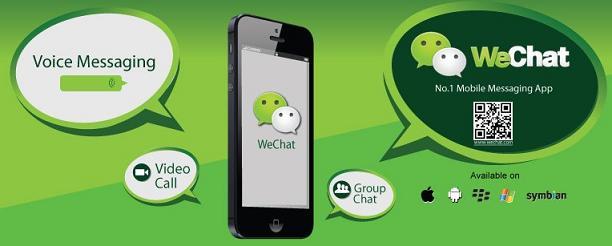 WeChat Mobile Messaging App - Timepass Fun